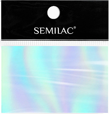 Фольга для дизайна ногтей - SEMILAC Transfer Foil (1шт) — фото N1