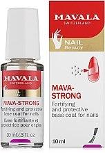 Духи, Парфюмерия, косметика Прозрачное топовое покрытие для ногтей - Mavala Colorfix Strong Flexible Top Coat