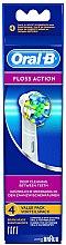 Духи, Парфюмерия, косметика Сменная насадка для электрической зубной щетки Floss Action EB 25, 4 шт - Oral-B