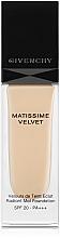 Духи, Парфюмерия, косметика Тональная основа - Givenchy Matissime Velvet Liquid Foundation SPF 20
