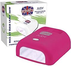 Духи, Парфюмерия, косметика Лампа для ногтей UV, темно-розовая - Ronney Profesional Judy UV 36W (GY-UV-230) Lamp