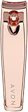Духи, Парфюмерия, косметика Кусачки клипер, розовое золото - Avon Rose Gold Nail Clippers
