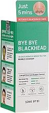 Духи, Парфюмерия, косметика Маска-пенка от чёрных точек - Some By Mi Blackhead 30Days Miracle Green Tea Tox Bubble Cleanser