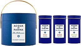 Духи, Парфюмерия, косметика Acqua di Parma Blu Mediterraneo - Набор (soap/3x70g)