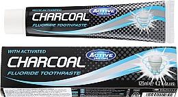 Духи, Парфюмерия, косметика Зубная паста с активированным углем - Beauty Formulas Charcoal Activated Fluoride Toothpaste