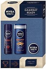 Духи, Парфюмерия, косметика Набор - Nivea For Men Sport (deo/150ml + sh/gel/250ml + cr/30ml)