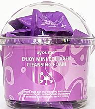 Духи, Парфюмерия, косметика Пенка для умывания с коллагеном - Ayoume Enjoy Mini Collagen Cleansing Foam