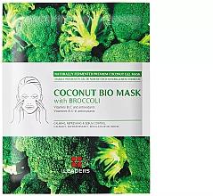"Духи, Парфюмерия, косметика Увлажняющая маска ""Брокколи"" - Leader Coconut Bio Mask With Broccoli"