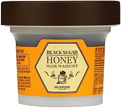 Духи, Парфюмерия, косметика Маска с медом и черным сахаром - SkinFood Black Sugar Honey Mask Wash Off