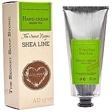 "Духи, Парфюмерия, косметика Крем для рук ""Зеленый чай"" - The Secret Soap Store Shea Line Hand Cream Green Tea"