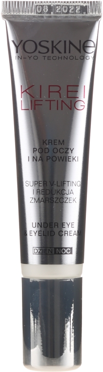 Крем для области вокруг глаз - Yoskine Kirei Lifting Eye Cream — фото N2