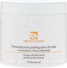 Духи, Парфюмерия, косметика Скраб для тела - APIS Professional Orange Terapis Orange Salt Body Scrub With Dead Sea Minerals