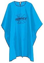 Духи, Парфюмерия, косметика Парикмахерская накидка, универсальный размер, голубой - Ronney Professional Hairdressing Cape One Size