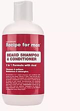 Духи, Парфюмерия, косметика Шампунь-кондиционер для бороды - Recipe for Men Beard Shampoo & Conditioner