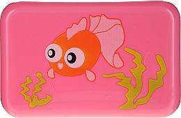 Духи, Парфюмерия, косметика Мыльница детская, 6024, розовая с рыбкой - Donegal