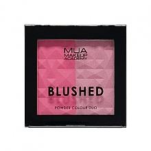 Духи, Парфюмерия, косметика Двойные румяна для лица - MUA Blushed Powder Colour Duo