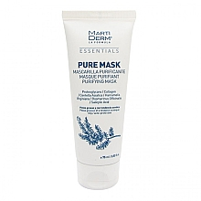 Духи, Парфюмерия, косметика Маска для жирной и склонной к акне кожи - MartiDerm Essentials Pure-Mask