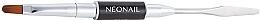 Духи, Парфюмерия, косметика Кисть-шпатель для полигеля 2 в 1 - NeoNail Professional Duo Acrylgel Brush