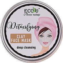"Духи, Парфюмерия, косметика Маска для лица ""Глубокое очищение"" - Eco U Detoxifying Deep Cleansing Clay Face Mask"