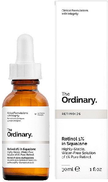 Сыворотка с ретинолом 1% в Сквалане - The Ordinary Retinol 1% in Squalane — фото N1