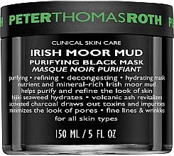 Духи, Парфюмерия, косметика Очищающая маска для лица - Peter Thomas Roth Irish Moor Mud Purifying Black Mask