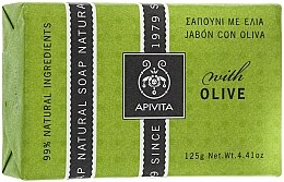 "Духи, Парфюмерия, косметика Мыло ""Оливки"" - Apivita Natural Soap with Olive"