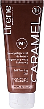 Духи, Парфюмерия, косметика Гель для автозагара с органической кокосовой водой - Lirene Self Tanning Gel Caramel