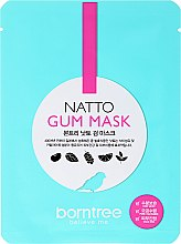 Духи, Парфюмерия, косметика Листовая маска для лица с бобами натто - Borntree Natto Gum Mask