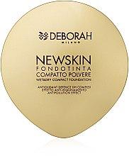 Духи, Парфюмерия, косметика Компактная пудра-основа для лица - Deborah New Skin Compact Foundation