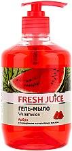 """Духи, Парфюмерия, косметика Гель-мыло с глицерином """"Арбуз"""" - Fresh Juice Watermelon"""