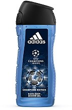 Духи, Парфюмерия, косметика Adidas UEFA Champions League Champions Edition - Гель для душа
