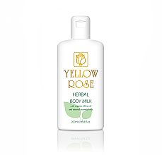 Духи, Парфюмерия, косметика Молочко для тела - Yellow Rose Herbal Body Milk