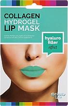 Духи, Парфюмерия, косметика Коллагеновая гидрогелевая маска для губ - Beauty Face Collagen Hydrogel Lip Mask Hyaluro Filler