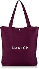 "Духи, Парфюмерия, косметика Сумка-шоппер марсала ""Easy Go"" - MakeUp"