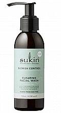 Духи, Парфюмерия, косметика Очищающий гель для умывания лица - Sukin Blemish Control Clearing Facial Wash