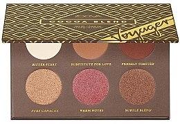 Духи, Парфюмерия, косметика Палетка теней для глаз - Zoeva Cocoa Blend Voyager Eyesadow Palette