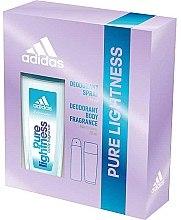 Духи, Парфюмерия, косметика Adidas Pure Lightness - Набор (deo/75ml+spray/150ml)