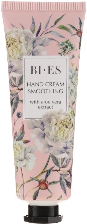 Разглаживающий крем для рук с экстрактом алоэ вера - Bi-es Smoothing Hand Cream With Aloe Vera Extract — фото N1