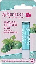 """Духи, Парфюмерия, косметика Бальзам для губ """"Ментол"""" - Benecos Natural Care Lip Balm Mint"""