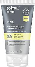Духи, Парфюмерия, косметика Гель для умывания с гликолевой кислотой для обновления кожи - Tolpa Dermo Men Max Effect Gel