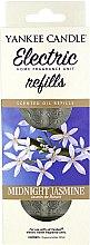 Духи, Парфюмерия, косметика Сменный блок для электрической аромалампы - Yankee Candle Midnight Jasmine Scent Oil Refills