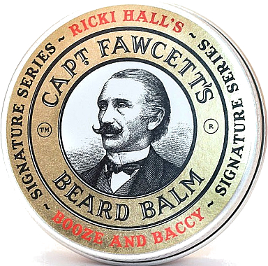 Бальзам для бороды - Captain Fawcett Ricki Hall Booze & Baccy Beard Balm  — фото N1