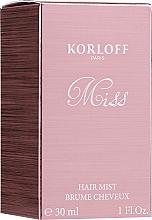 Духи, Парфюмерия, косметика Korloff Paris Miss - Мист для волос