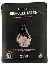 Духи, Парфюмерия, косметика Биоцеллюлозная маска с экстрактом лотоса и глутатиона - SNP Brightening Bio-cell Mask