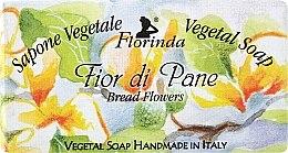 "Духи, Парфюмерия, косметика Мыло натуральное ""Цветы хлеба"" - Florinda Sapone Vegetale Vegetal Soap Bread Flowers"