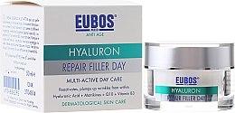 Духи, Парфюмерия, косметика Крем для лица, мультиактивный - Eubos Med Anti Age Hyaluron Repair Filler Day Cream