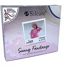 Духи, Парфюмерия, косметика Набор - Silcare Flexy Sunny Fantango (gel nail/4х4.5g)