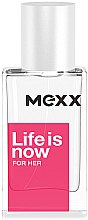 Духи, Парфюмерия, косметика Mexx Life is Now for Her - Туалетная вода
