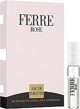 Духи, Парфюмерия, косметика Gianfranco Ferre Ferre Rose - Туалетная вода 1.5ml (пробник)