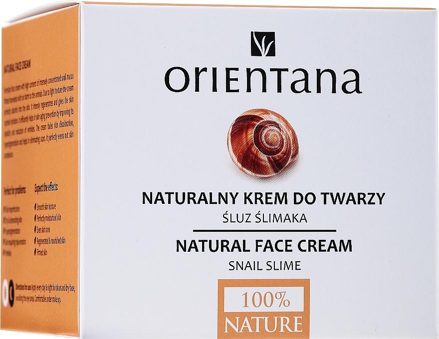 Крем для лица - Orientana Natural Snail Cream — фото N2